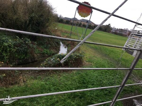 The photo for Vandalism of Riverside Bridge cables - 2019-12-12.