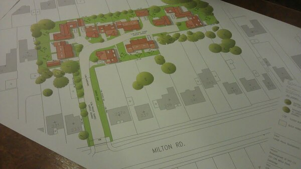 The photo for Milton Road Housing Development in Back Gardens 12/1537/FUL.